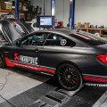 BMW F82 M4 Gets An Akrapovic Exhaust Installed