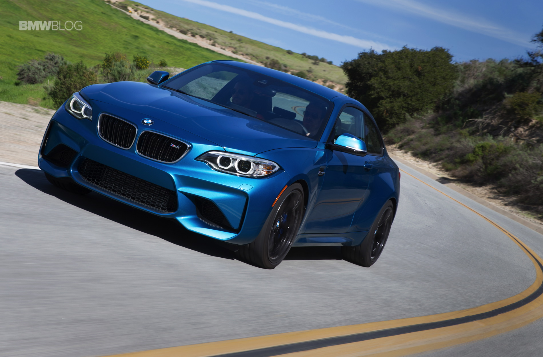 BMW M2 Horatiu driving 2