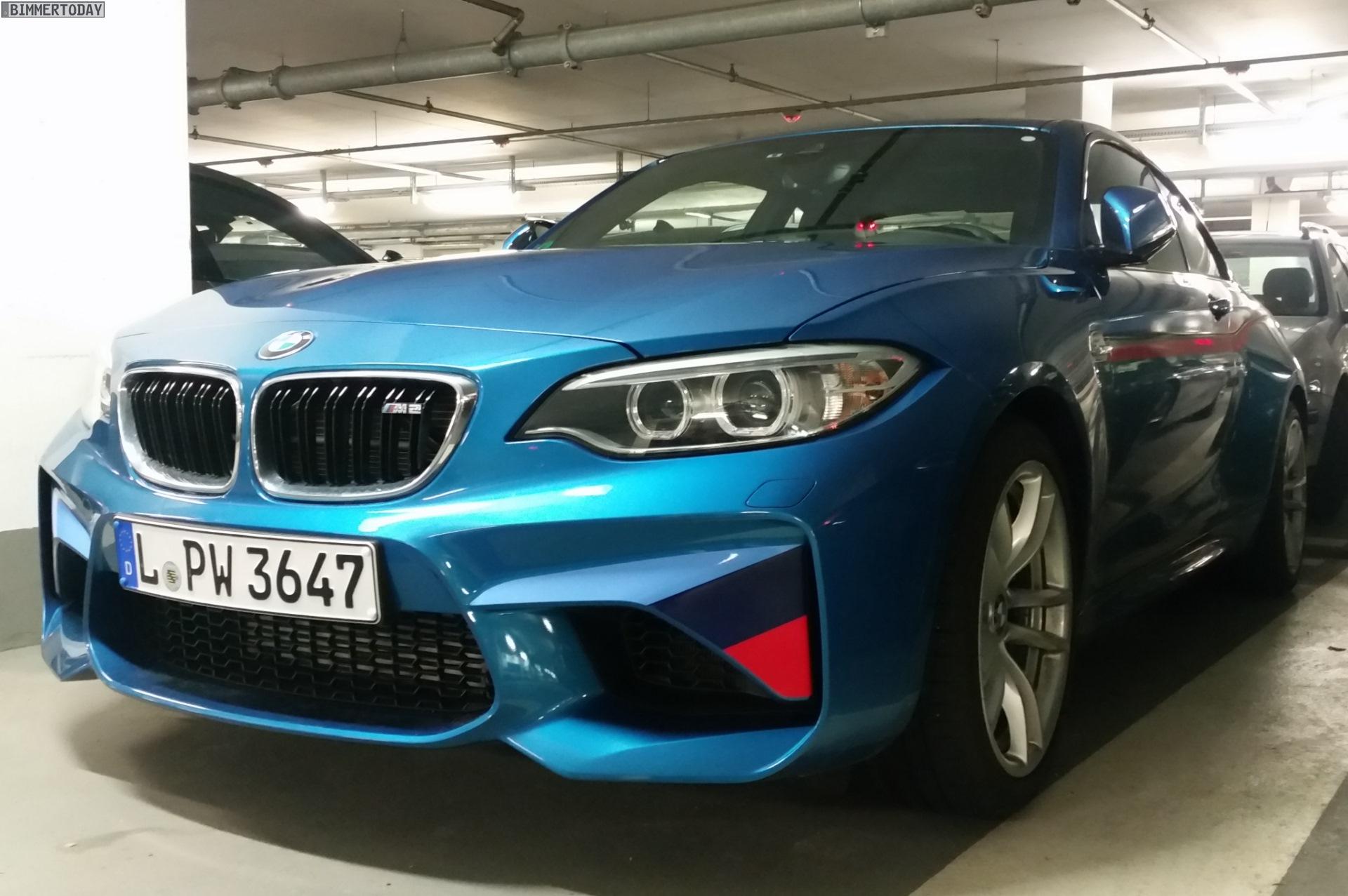 BMW M2 M Performance Dekor Long Beach Blue 01