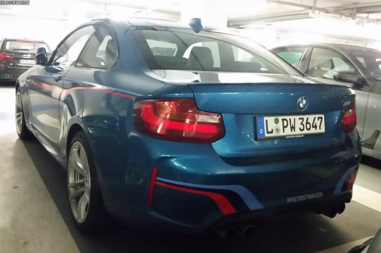 BMW M2 M Performance Dekor Long Beach Blue 04 750x499