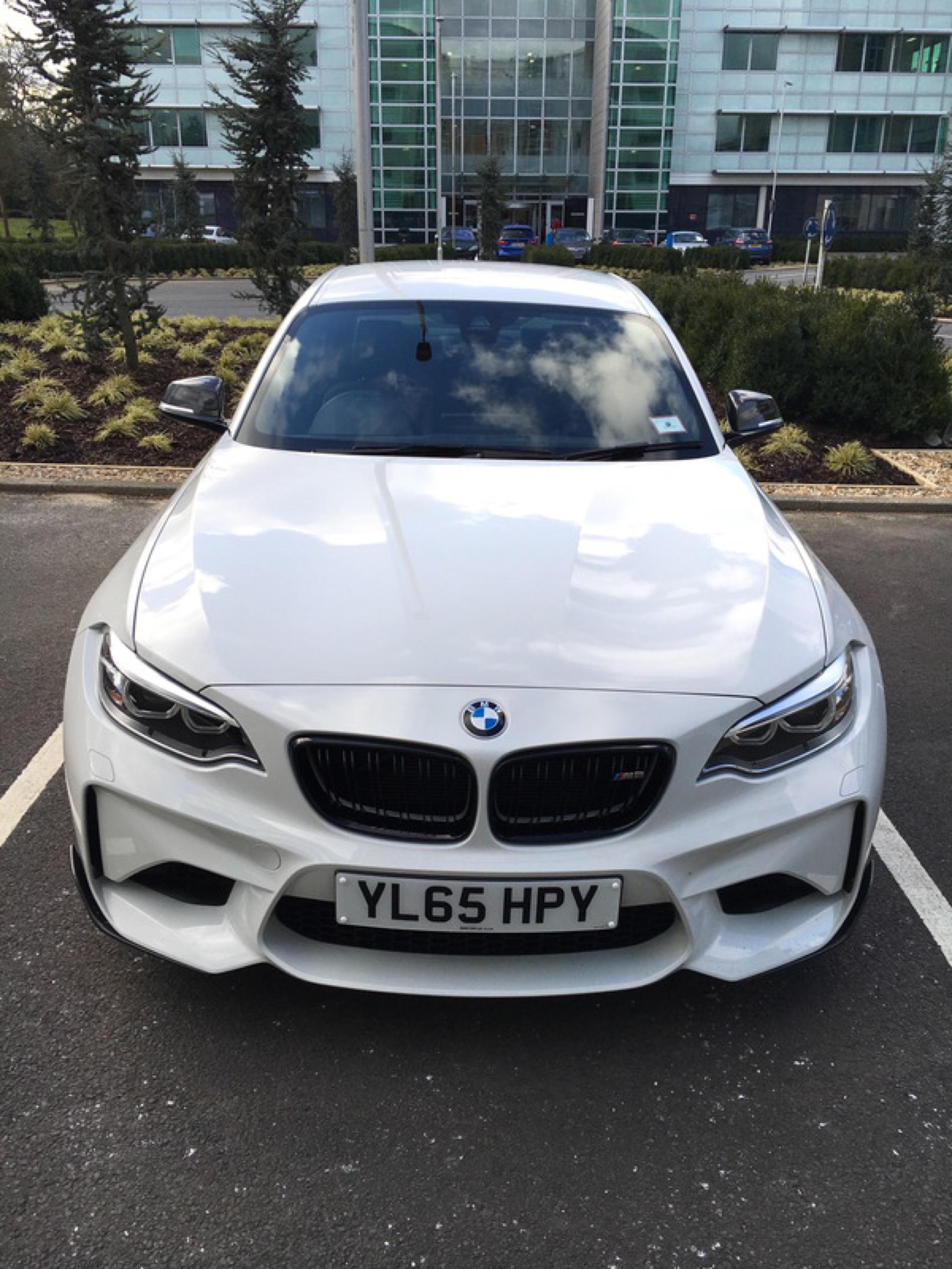 BMW M2 M Performance Parts Alpine White 11