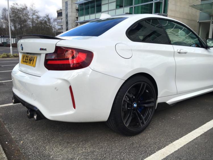 BMW M2 M Performance Parts Alpine White 15 750x563