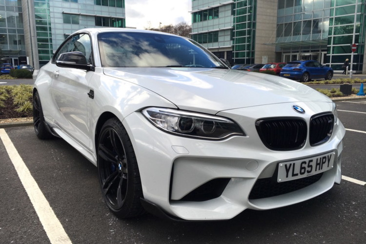 BMW M2 M Performance Parts Alpine White 7 750x500