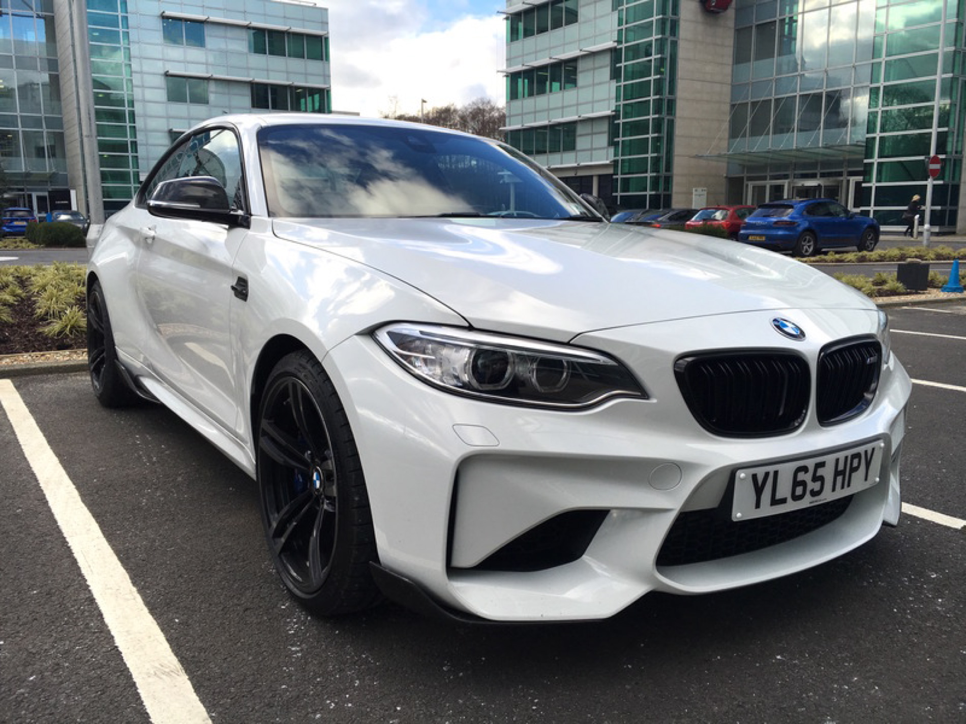 Real Life Photos Bmw M2 In Alpine White With M Performance Parts