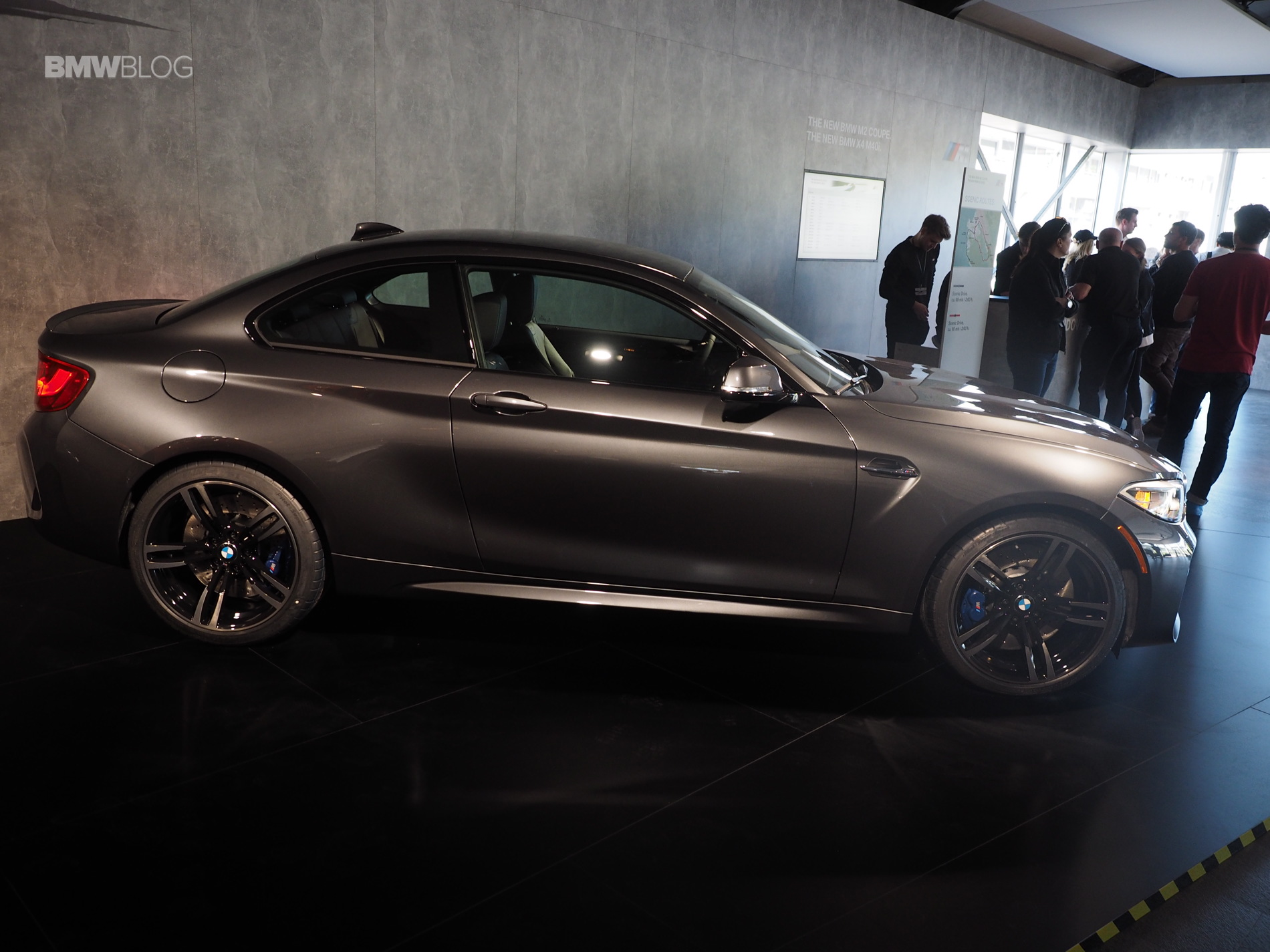Bmw M2 In Mineral Grey Photo Gallery