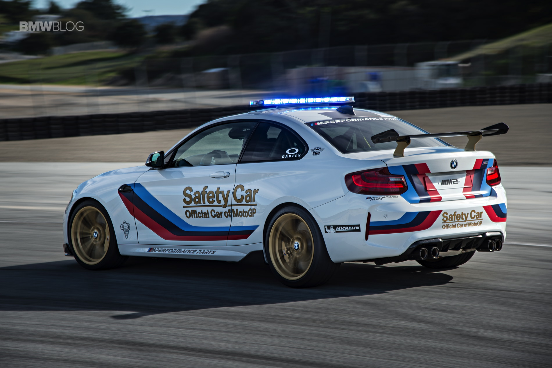 BMW M2 MotoGP Safety Car Laguna Seca 21