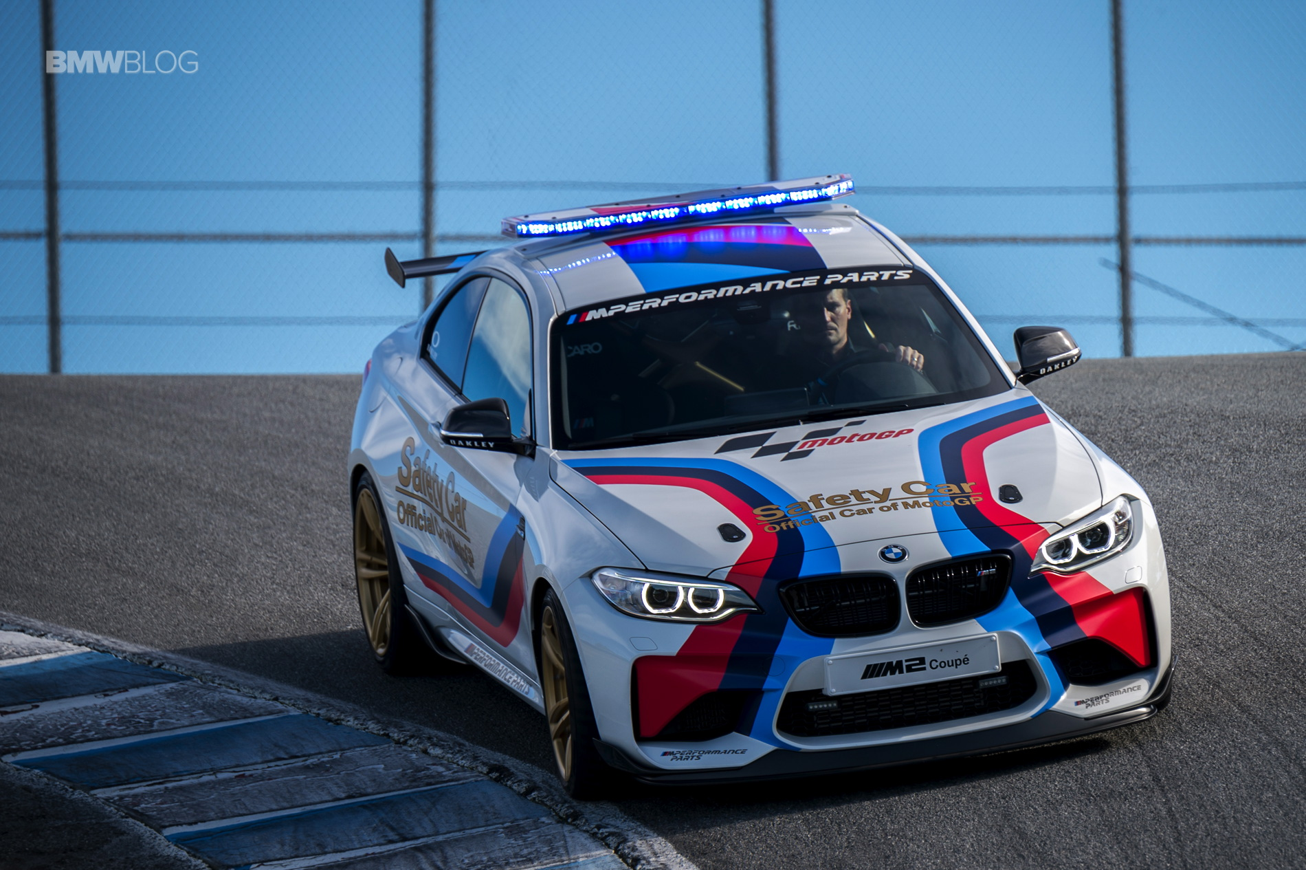 BMW M2 MotoGP Safety Car at Laguna Seca