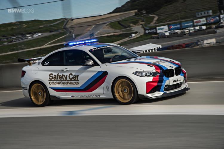BMW M2 MotoGP Safety Car Laguna Seca 6 750x499
