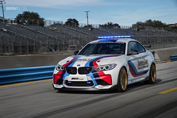 BMW M2 MotoGP Safety Car Laguna Seca 7 750x499