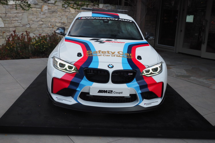 BMW M2 MotoGP Safety Car photos 2 750x500