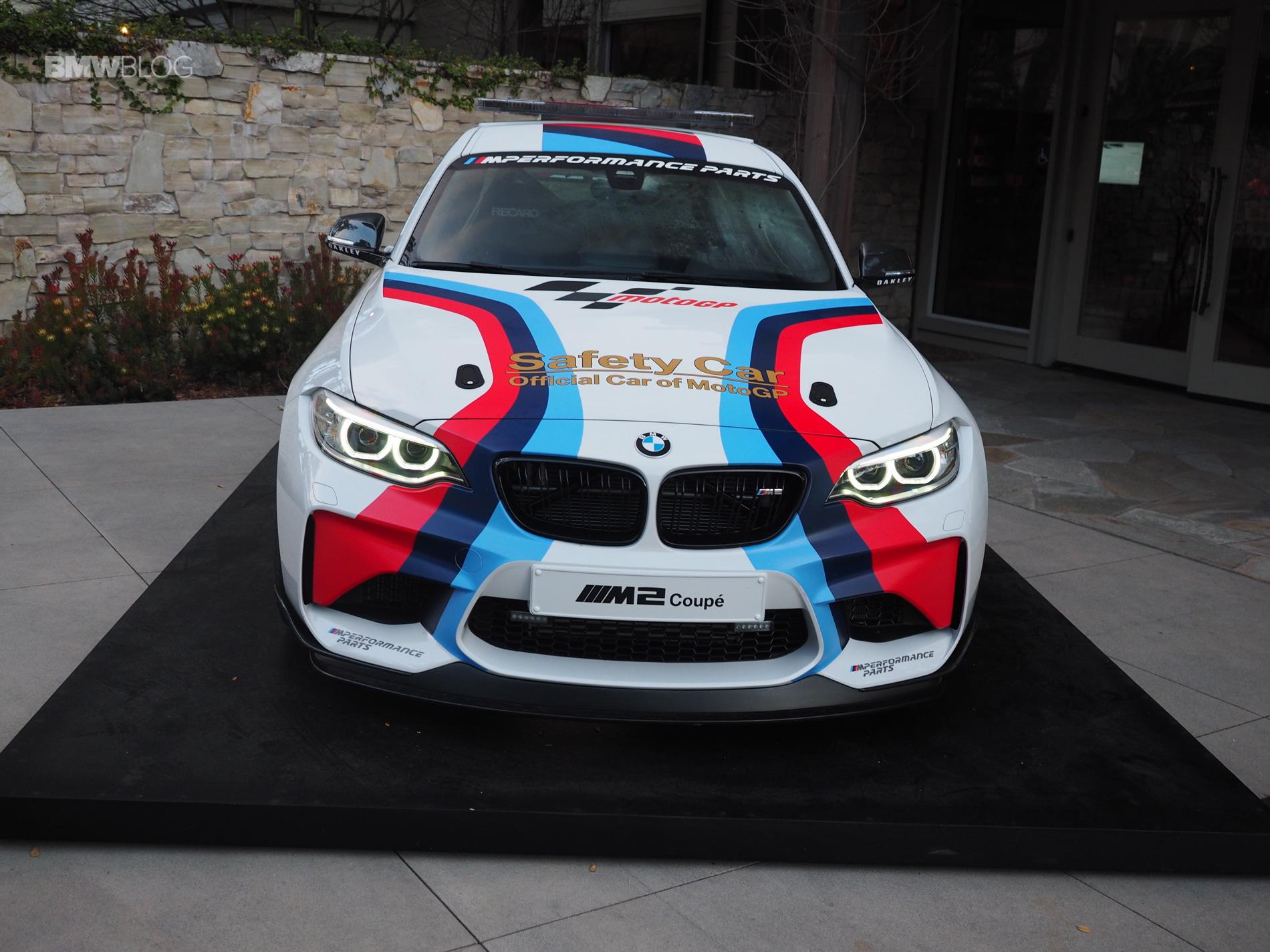BMW M2 MotoGP Safety Car photos 2