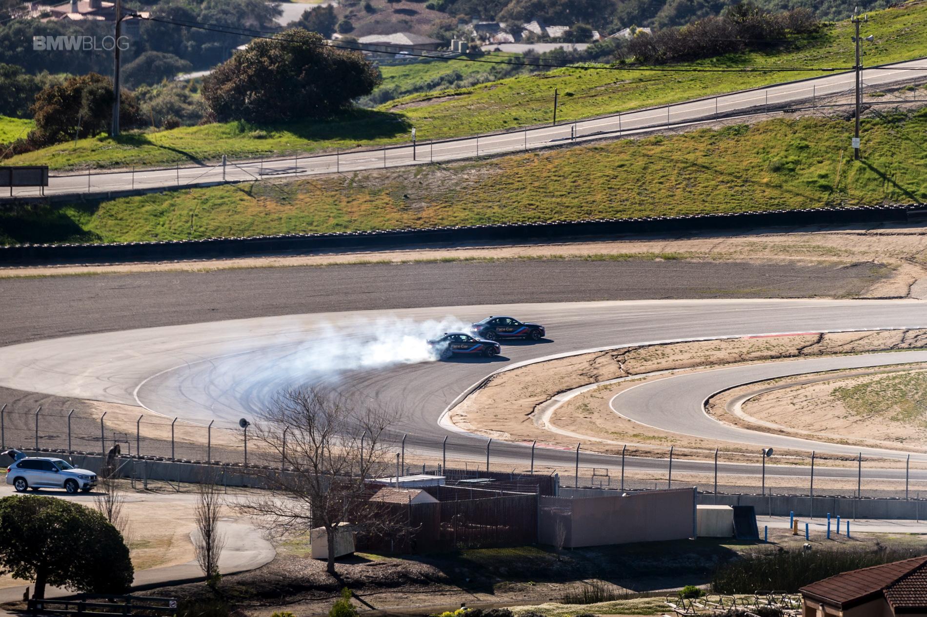BMW M2 drifts laguna seca 1