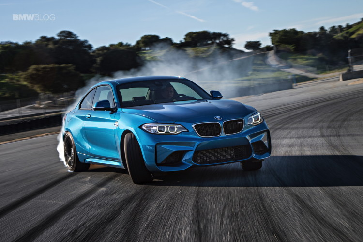 BMW M2 test drive review 42 750x499