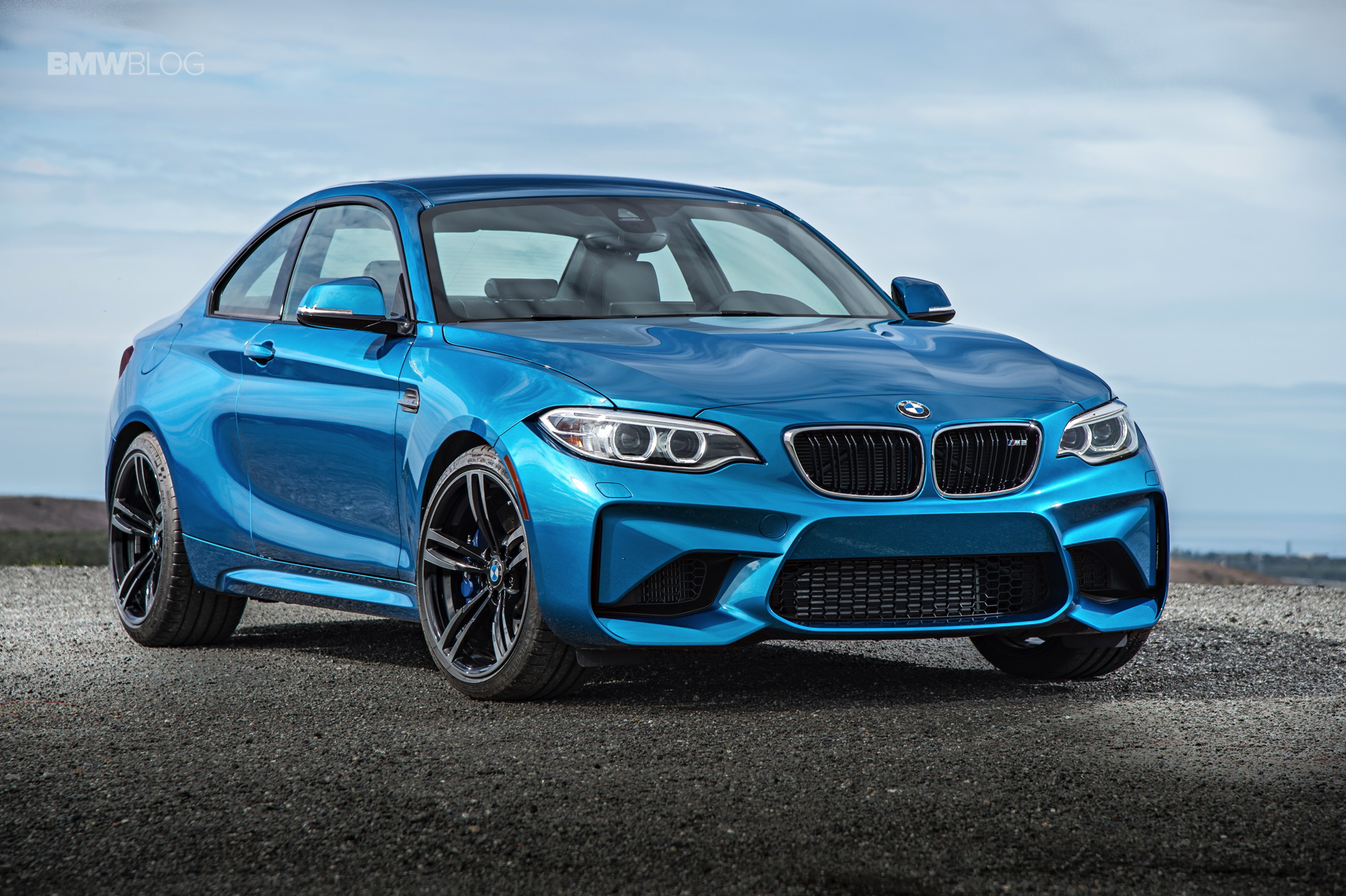 BMW M2 test drive review 76