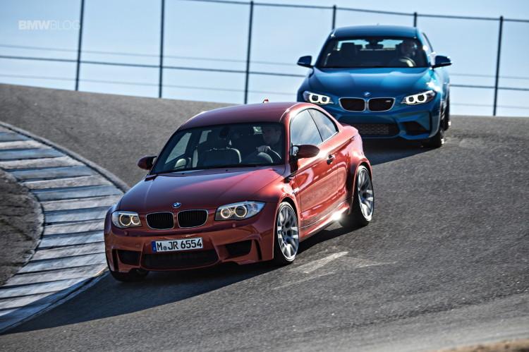 BMW M2 vs BMW 1M 2 750x499