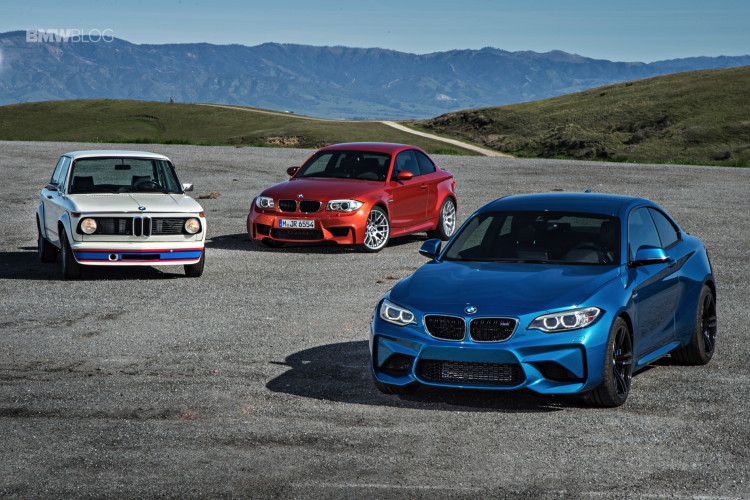 BMW M2 vs BMW 1M vs BMW 2002 1 750x500