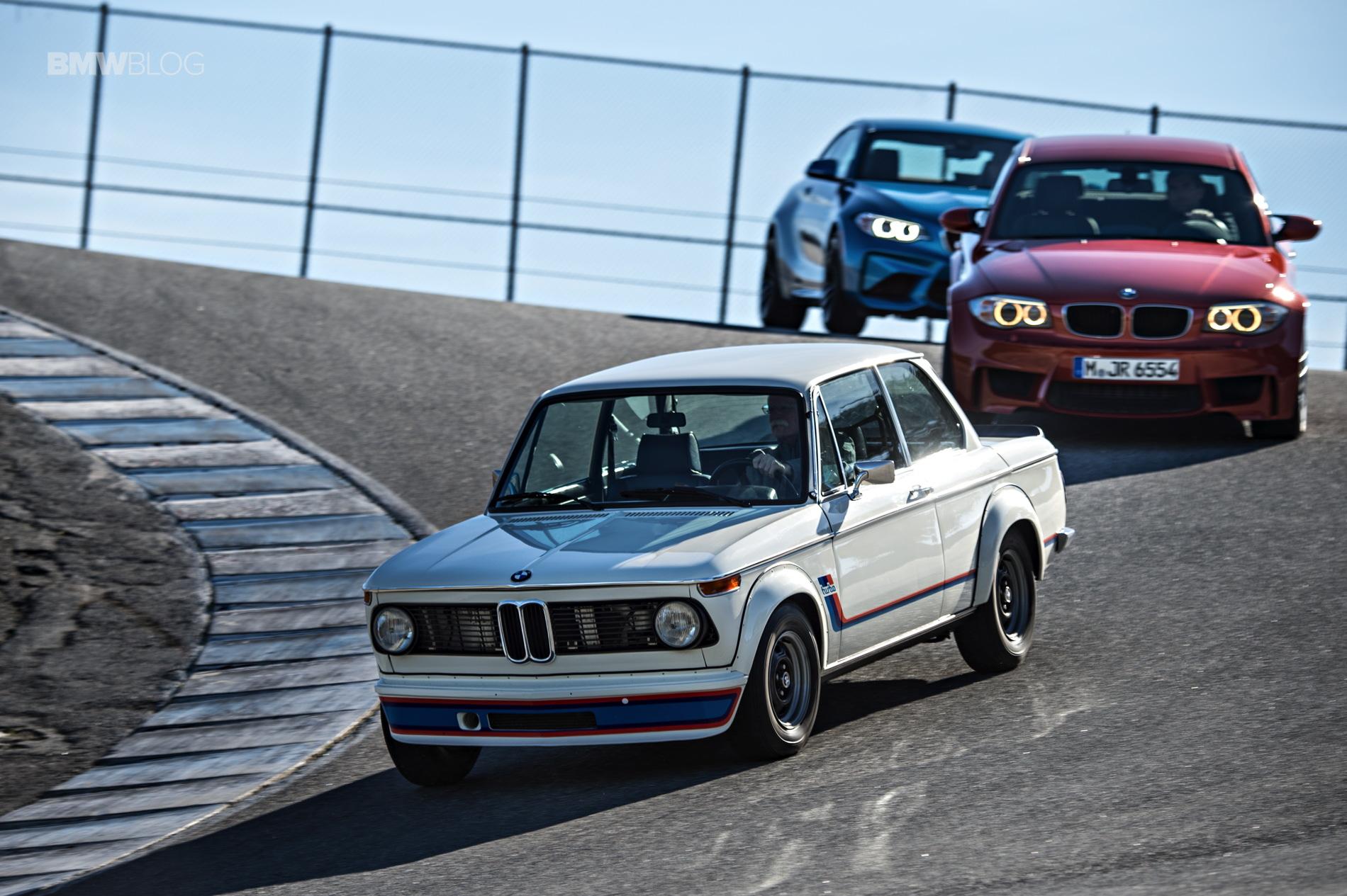 Bmw 2002 Tii Turbo Vs Bmw M2 Vs Bmw 1m