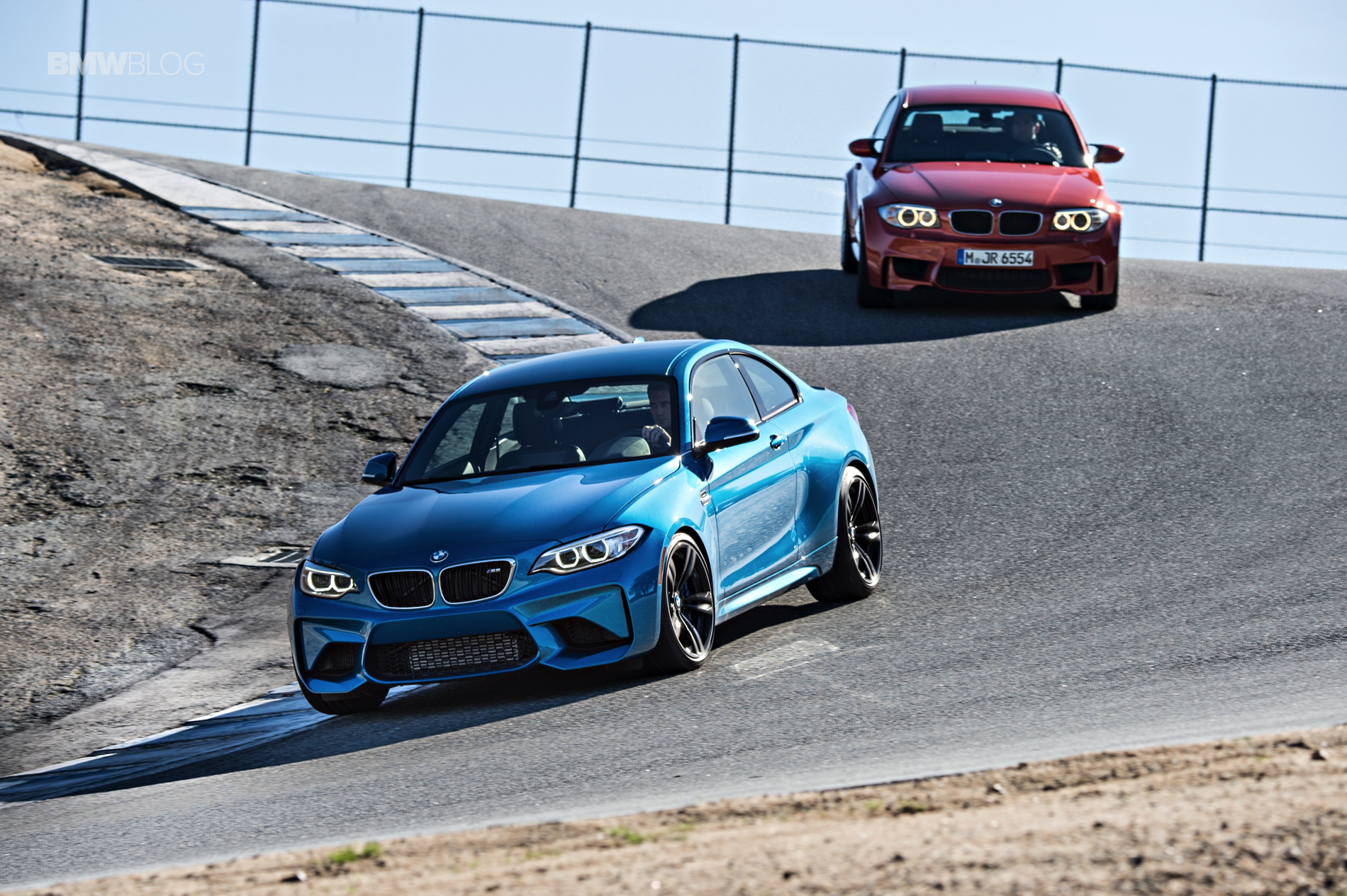 BMW M2 vs BMW 1M vs BMW 2002 36