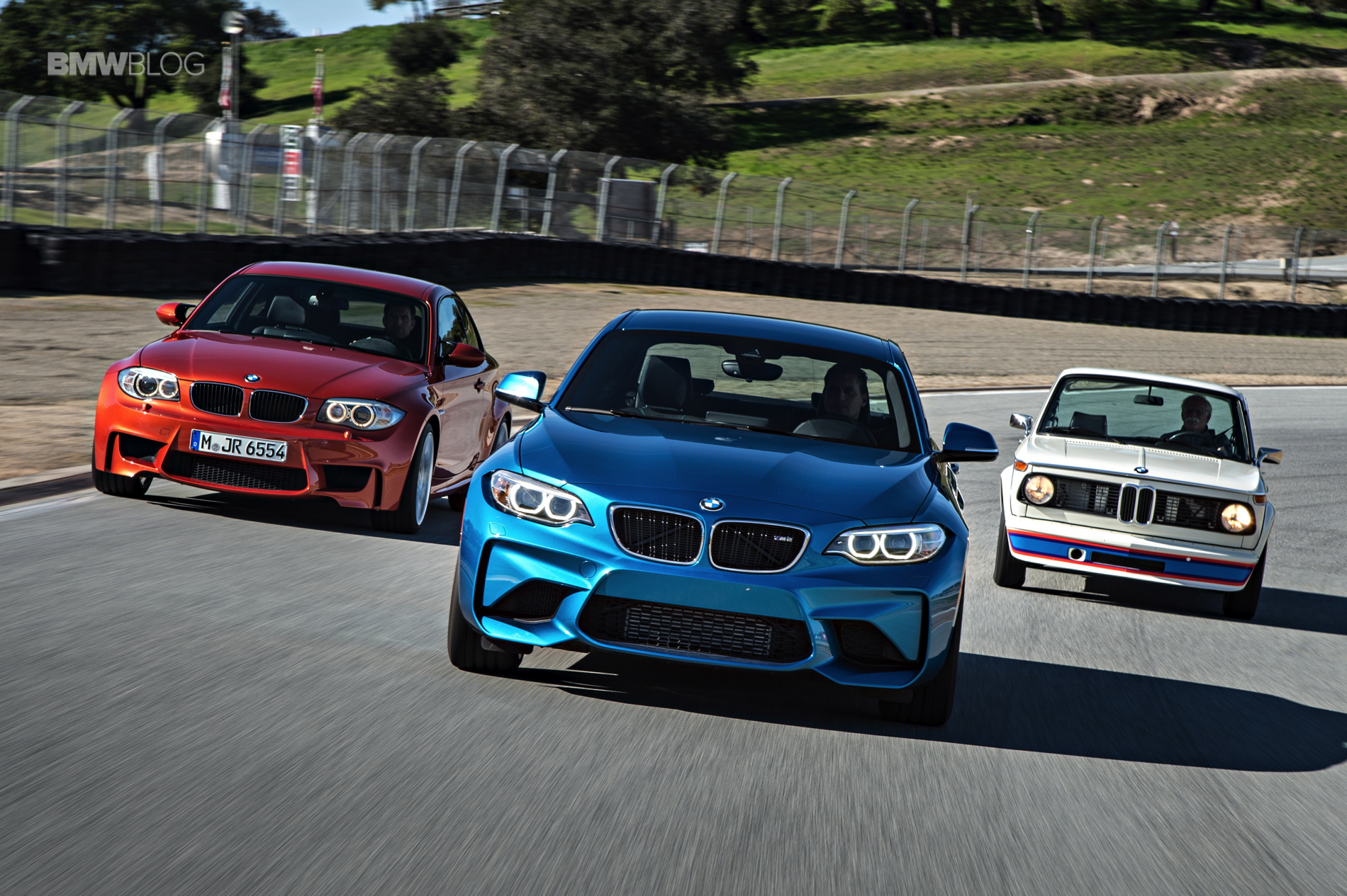 BMW M2 vs BMW 1M vs BMW 2002 7