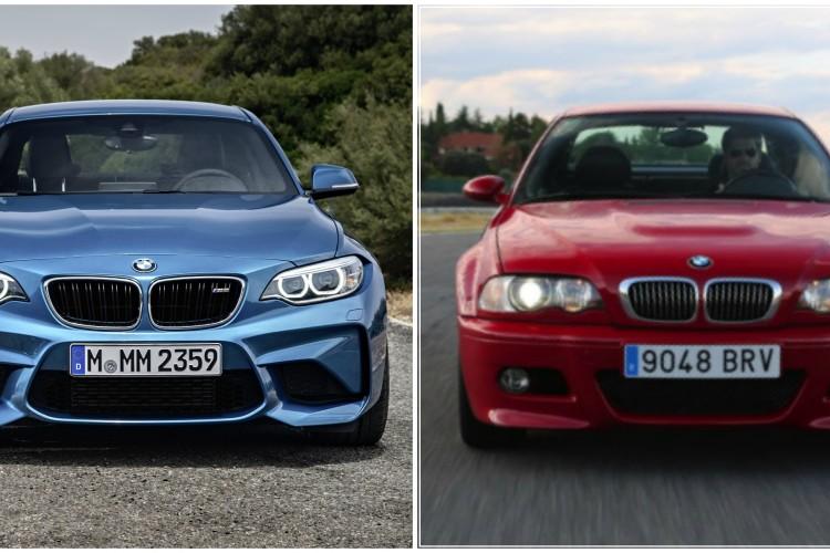 BMW M2 vs E46 M3 750x500