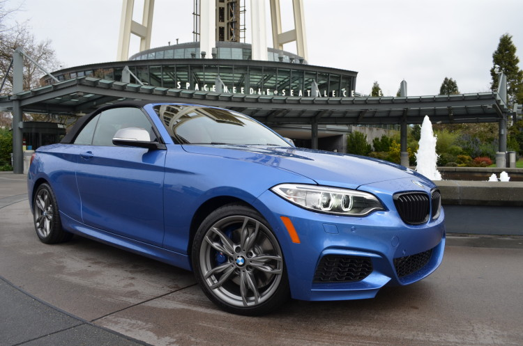 Bmw M235i Xdrive Convertible Test Drive 12