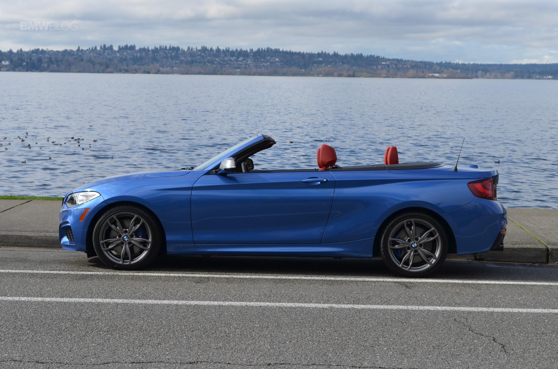 BMW M235i xDrive Convertible test drive 59