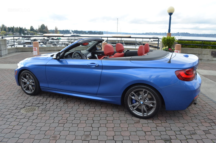 Bmw M235i Xdrive Convertible Test Drive 68