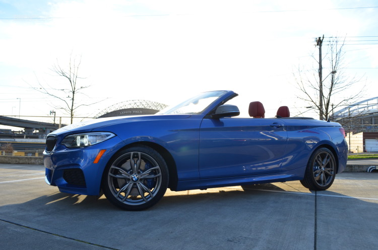 Bmw M235i Xdrive Convertible Test Drive 82