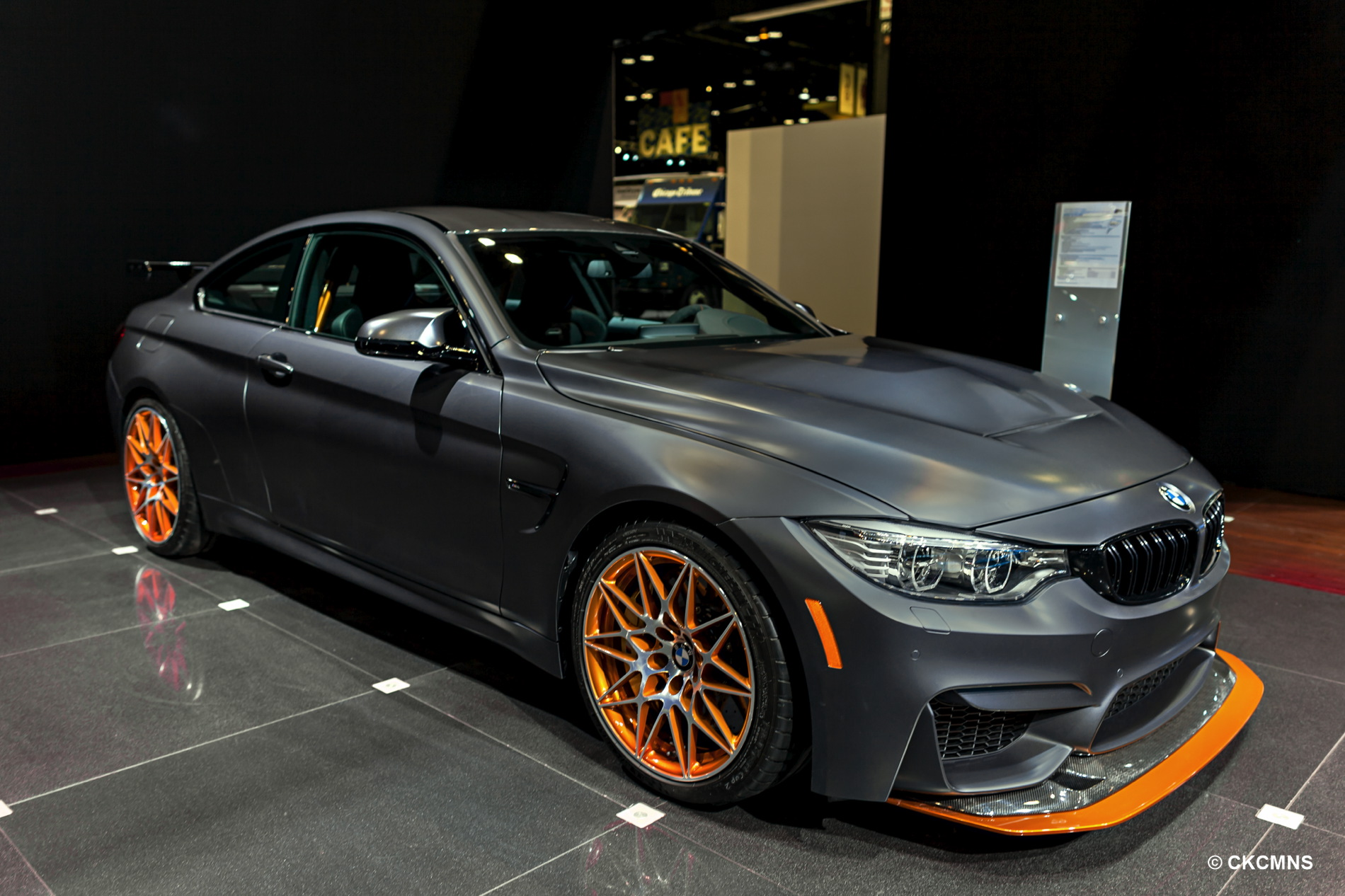 BMW M4 GTS Chicago Auto Show 2