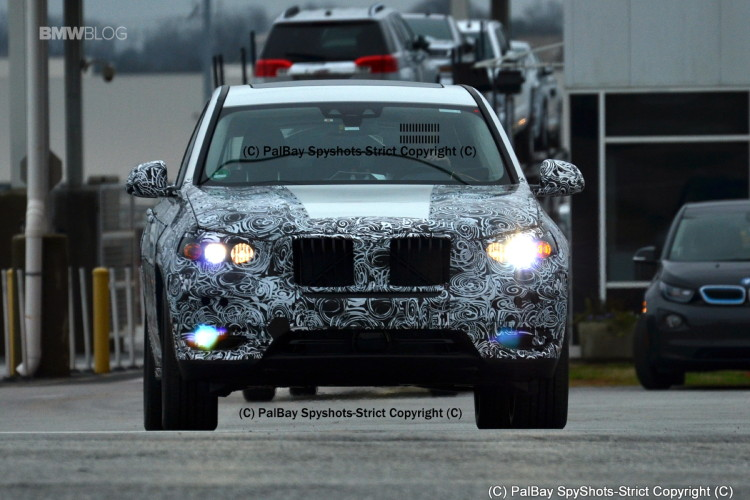 BMW X3 M40i spy photos 11 750x500