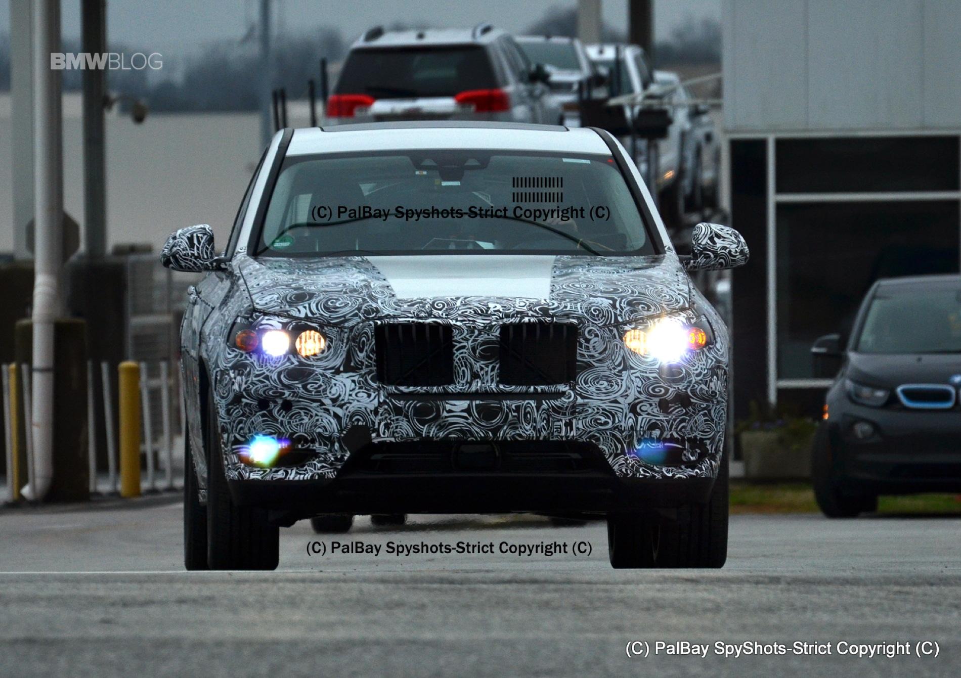 BMW X3 M40i spy photos 11