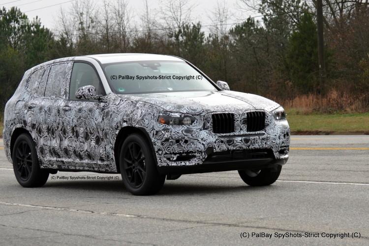 SPIED: 2017 BMW X3 M40i