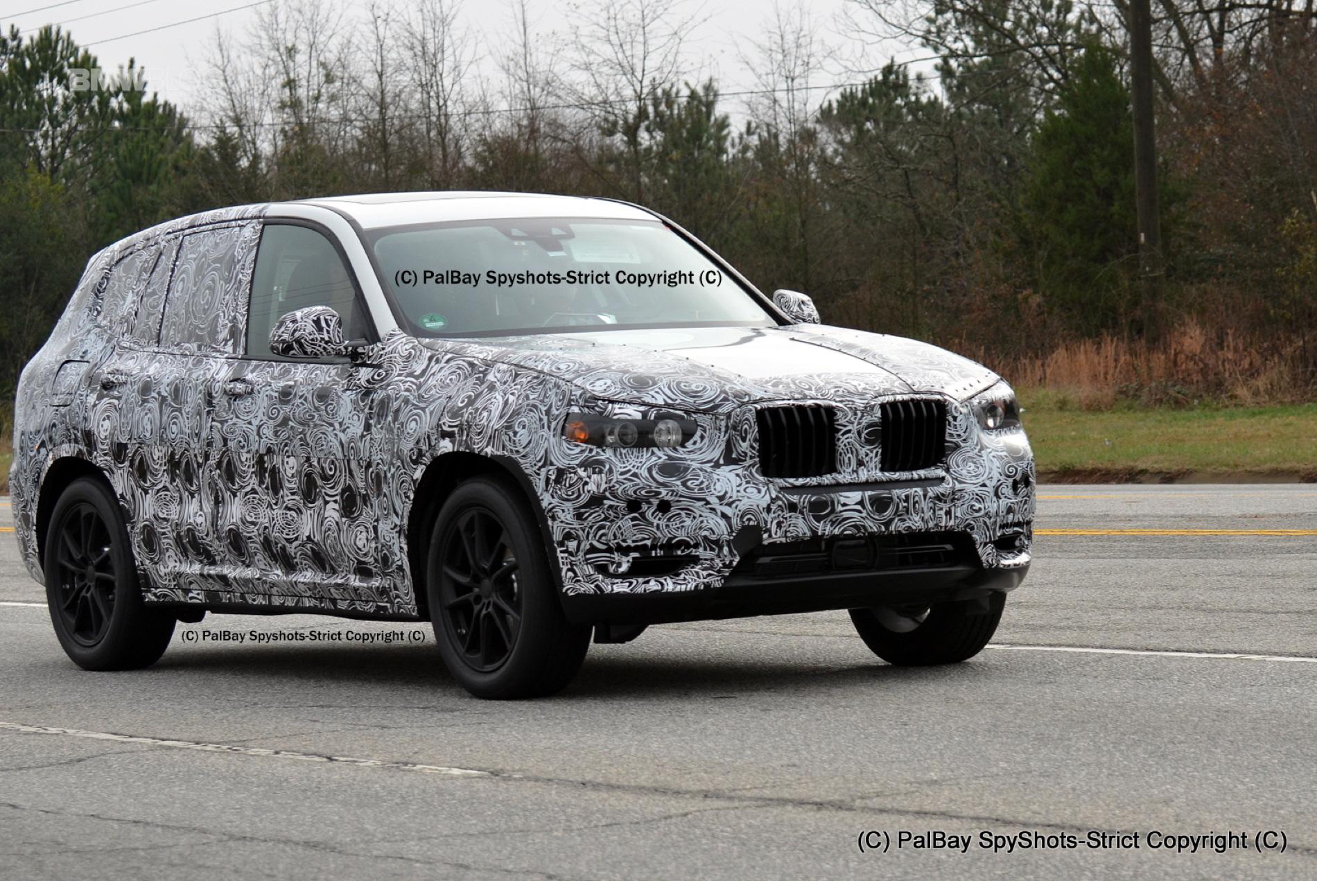 BMW X3 M40i spy photos 4