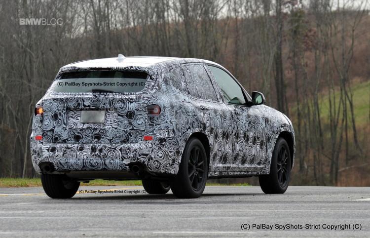 BMW X3 M40i spy photos 9 750x482