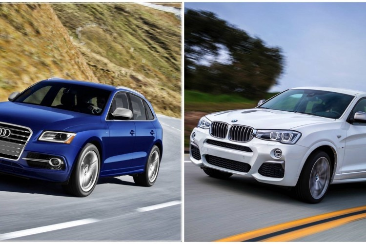 BMW X4 M40i vs Audi SQ50 750x500