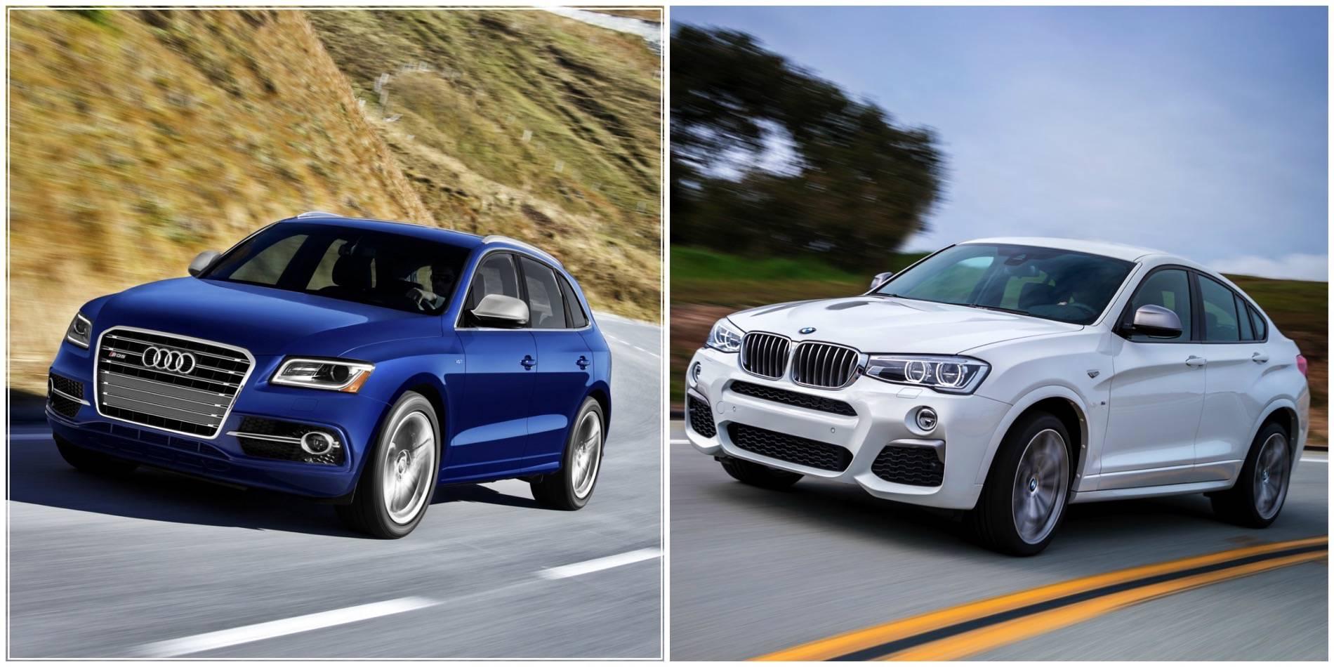 BMW X4 M40i vs Audi SQ50