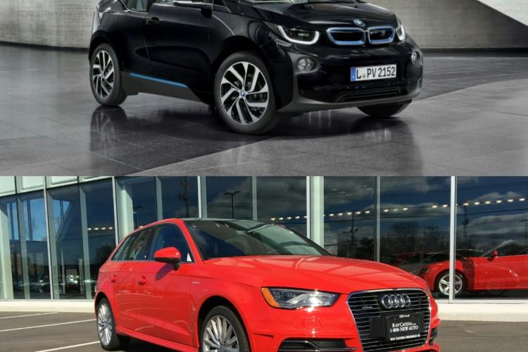 BMW i3 vs Audi A3 e tron 1 750x500