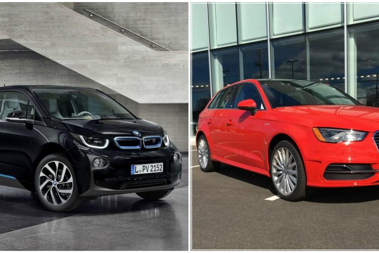 BMW i3 vs Audi A3 e tron 750x500