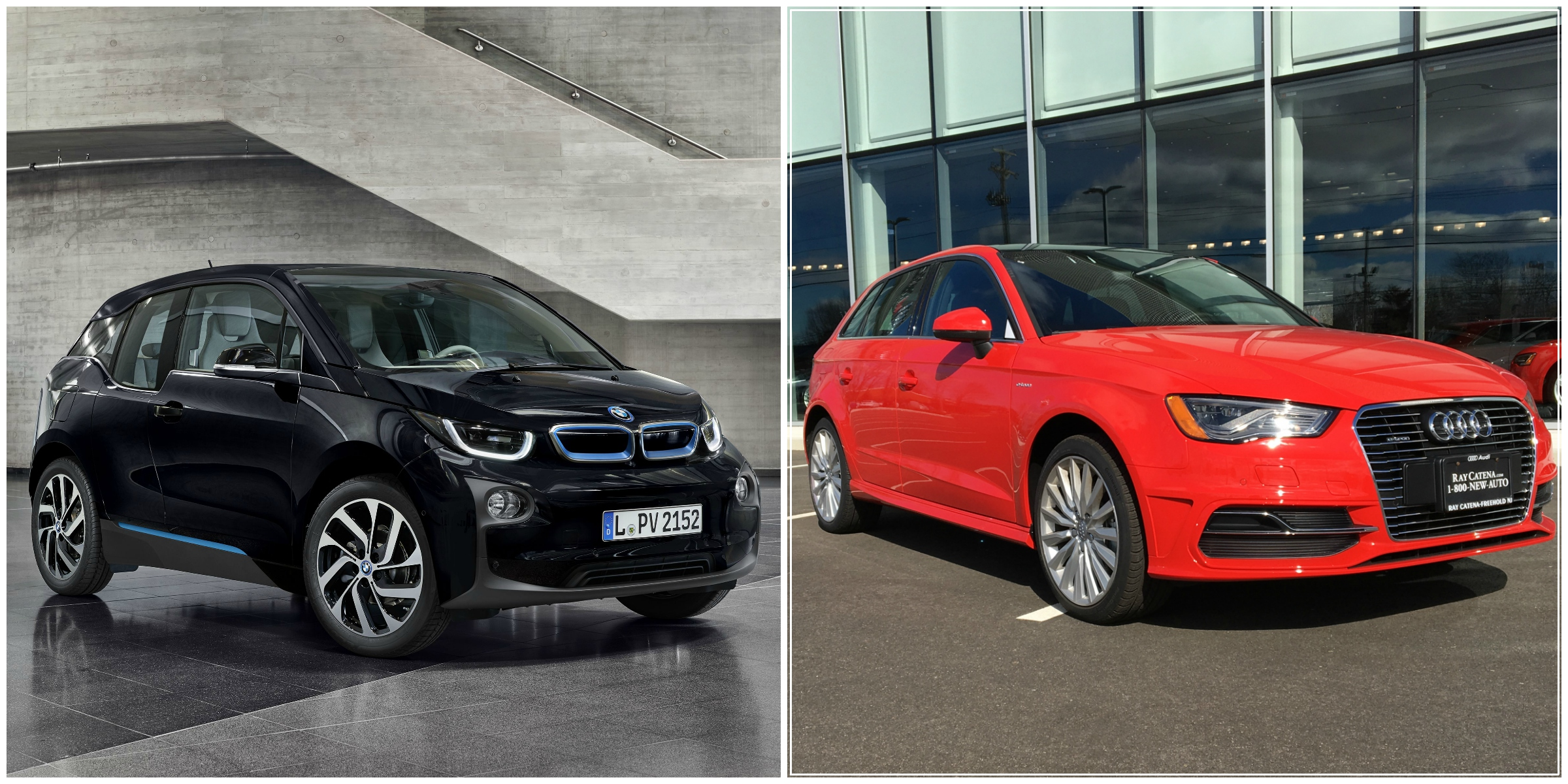 BMW i3 vs Audi A3 e tron