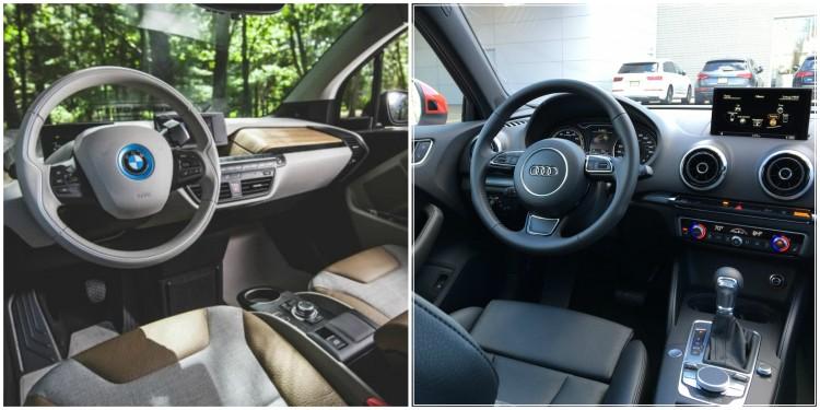 BMW i3 vs Audi A3 e tron1 750x375