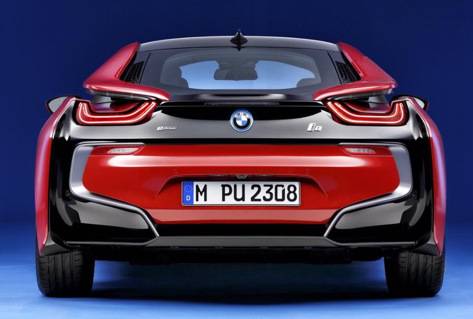 World Premiere Bmw I8 Protonic Red Edition
