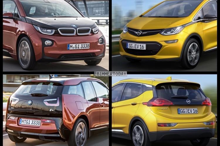 Bild Vergleich BMW i3 Opel Ampera e 2016 01 750x500 750x500