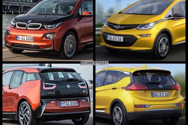 Bmw I3 Vs Opel Ampera E