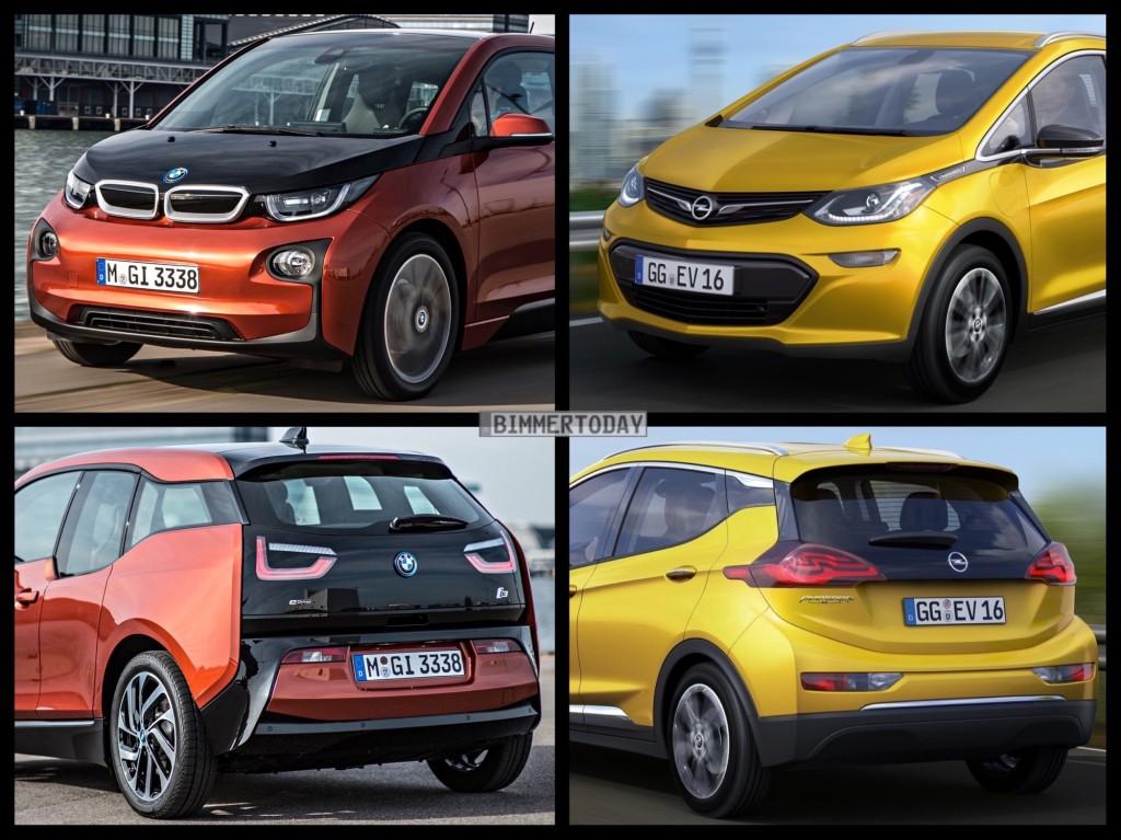 Bild Vergleich BMW i3 Opel Ampera e 2016 02 1024x767