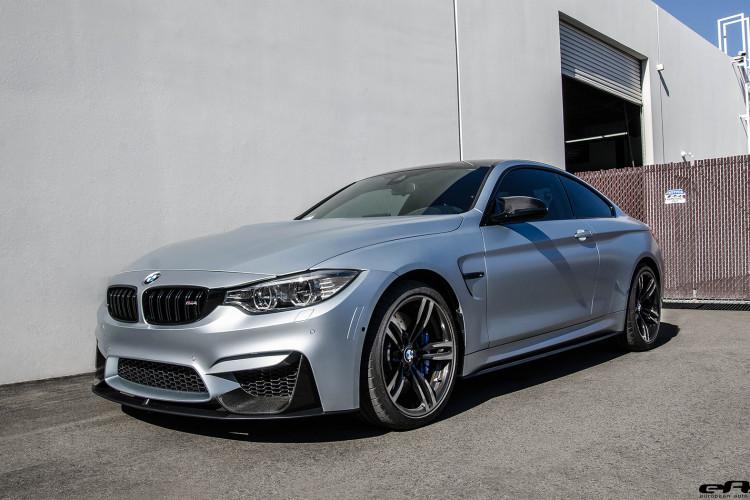 Frozen Silver Bmw M4 Gets Modded