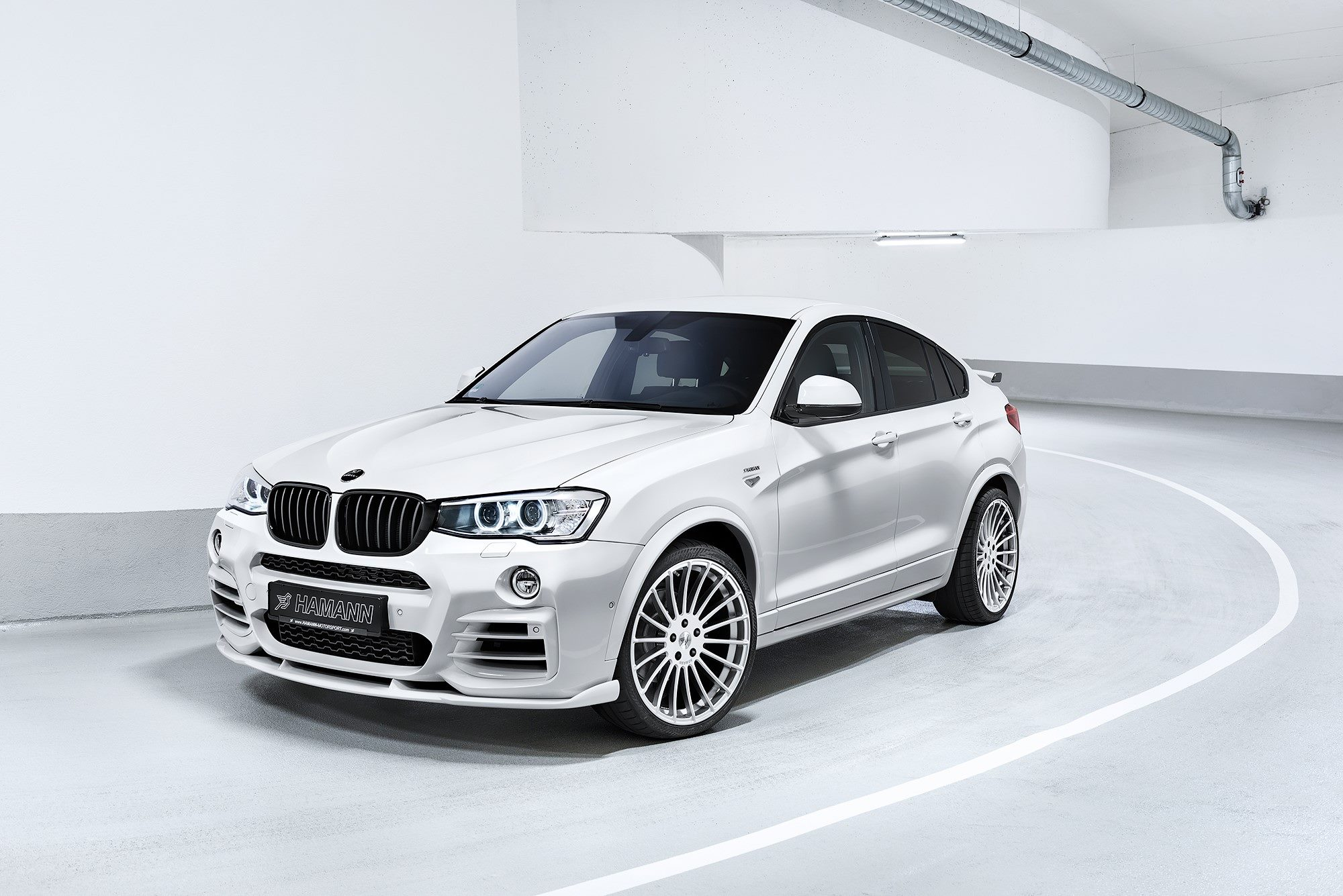 Performance Exhaust System >> Hamann gives 381 horsepower to BMW X4 SUV