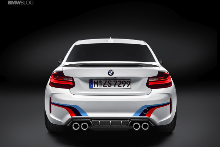 M Performance Parts BMW M2 4 750x500