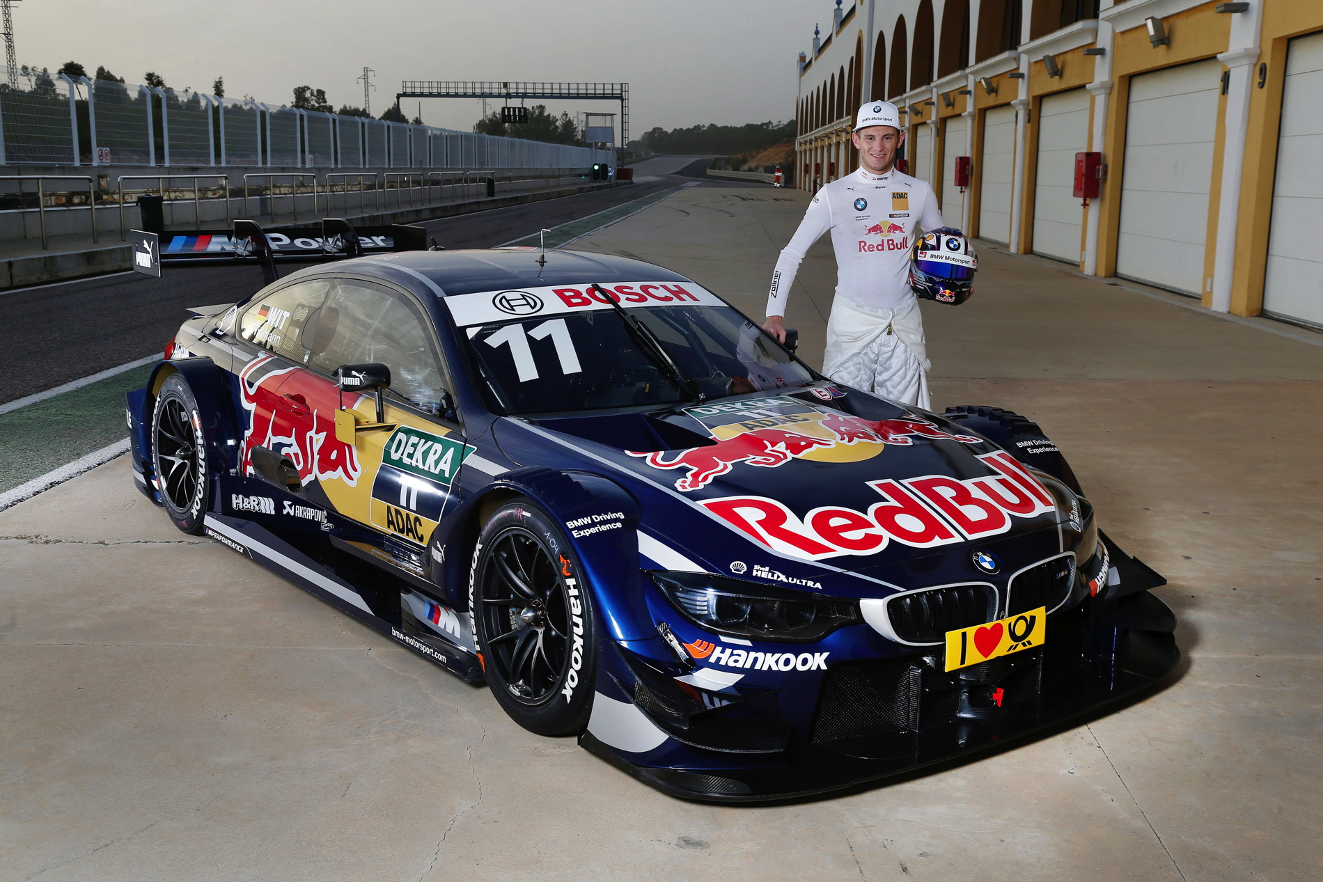 2014 Dtm Champion Marco Wittmann To Pilot For Red Bull Bmw