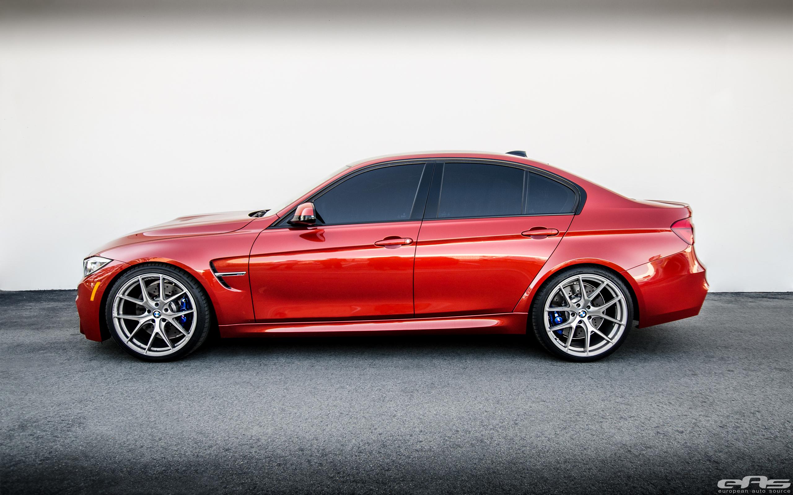 Sakhir Orange BMW M3 Gets Modded At EAS 1