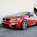 Sakhir Orange BMW M3 Gets Modded At EAS